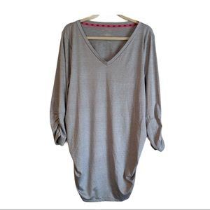 Maurices Inmotion ruched long sleeve workout top